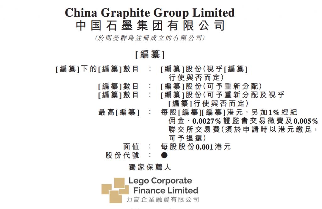 中国石墨集团有限公司